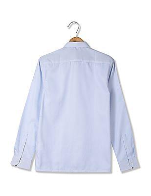 Excalibur Spread Collar Checked Shirt