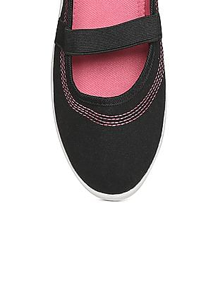 SUGR Contrast Stitch Slip On Shoes