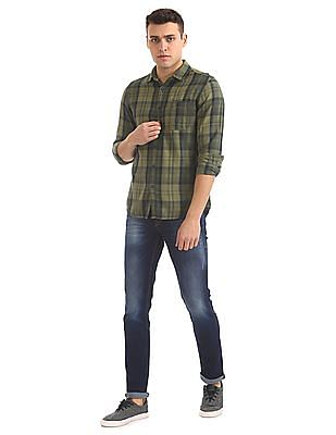 Flying Machine Skinny Fit Stone Wash Jeans
