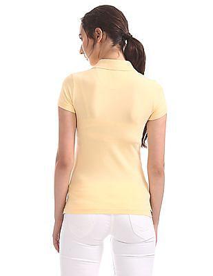 U.S. Polo Assn. Women Regular Fit Polo Shirt