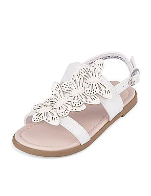 The Children's Place Toddler Girl Butterfly Sparkle Zahara Sandal
