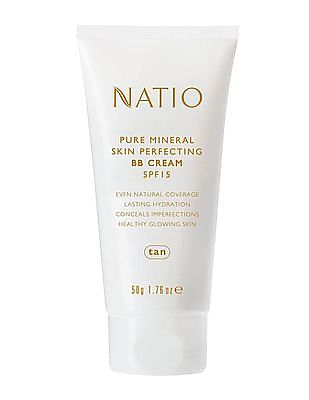 NATIO Pure Mineral Skin Perfecting BB Cream SPF 15 - Tan