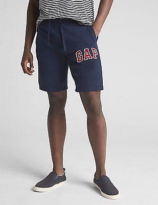 GAP Drawstring Waist Applique Logo Shorts