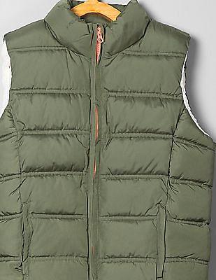 GAP Girls Sleeveless Padded Jacket