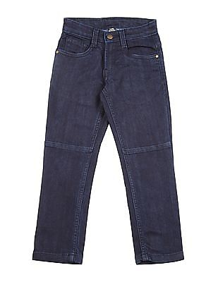 FM Boys Boys Panelled Skinny Fit Jeans