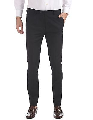 Arrow Newyork Super Slim Fit Patterned Trousers