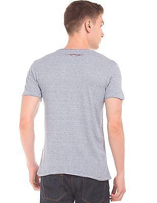 Ed Hardy Chest Pocket Striped T-Shirt