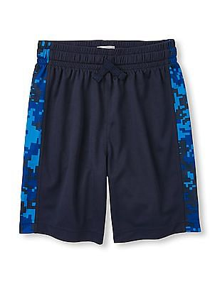 The Children's Place Boys Drawstring Waist Panelled Shorts