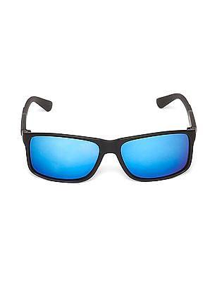 Colt Mirrored Lens Rectangular Sunglasses