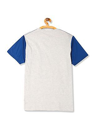 Colt Contrast Sleeve Graphic T-Shirt