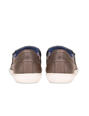 Arrow Sports Textured Slip On Shoes