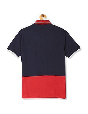 Colt Short Sleeve Colour Block Polo Shirt