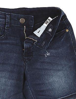 FM Boys Boys Slim Fit Denim Shorts