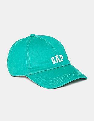 GAP Women Green Micro Logo Baseball Cap