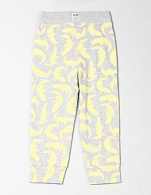 GAP Toddler Boy Print Pull-On Pants