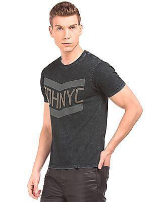 Ed Hardy Embellished Washed T-Shirt