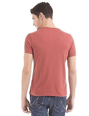 U.S. Polo Assn. Denim Co. Melange Muscle Fit T-Shirt