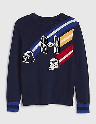 GAP Boys Star Wars™ Pullover Sweater
