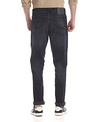 U.S. Polo Assn. Denim Co. Delta Slim Fit Washed Jeans