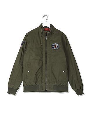 U.S. Polo Assn. Denim Co. Stand Collar Twill Jacket