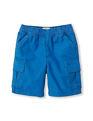 The Children's Place Toddler Boy Pull-On Cargo Shorts