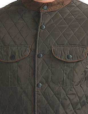 Izod Slim Fit Quilted Jacket