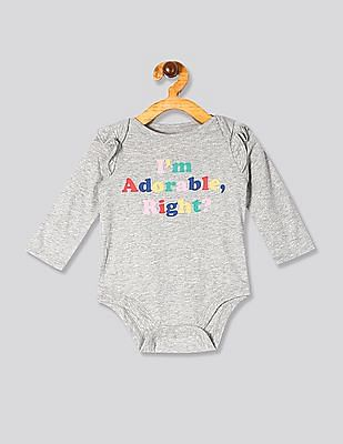 GAP Assorted Baby Graphic Ruffle Bodysuit Set