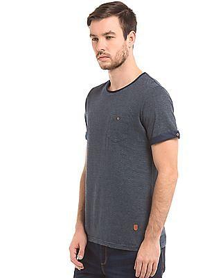 True Blue Striped Slim Fit T-Shirt