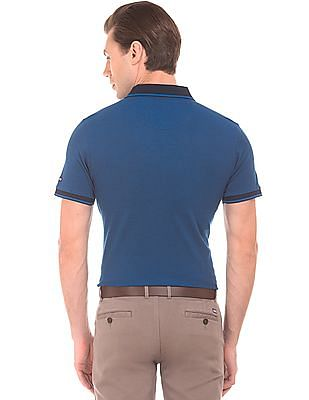 Arrow Sports Regular Fit Tipped Polo Shirt