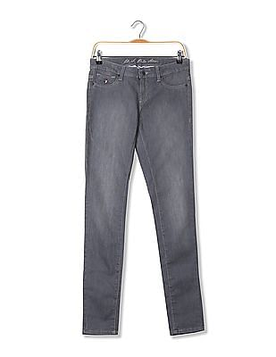 U.S. Polo Assn. Women Jegging Fit Stone Wash Jeans