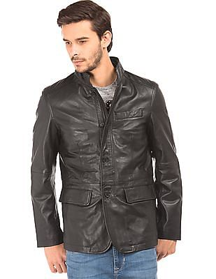 Buy U.S. Polo Assn. Reversible Leather Jacket online at NNNOW.com