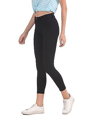 Flying Machine Women Betty Mid Rise Jeggings
