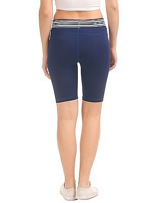 SUGR Contrast Waist Active Shorts