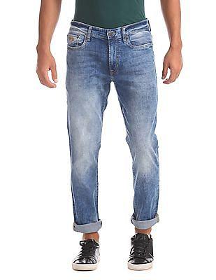 Aeropostale Skinny Fit Crinkled Jeans
