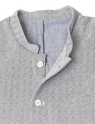 True Blue Slim Fit Knitted Bandi