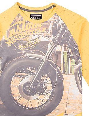Cherokee Boys Graphic Print Long Sleeve T-Shirt