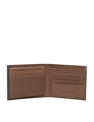 U.S. Polo Assn. Mock Flap Bi-Fold Leather Wallet