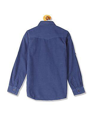 U.S. Polo Assn. Kids Boys Standard Fit Corduroy Shirt