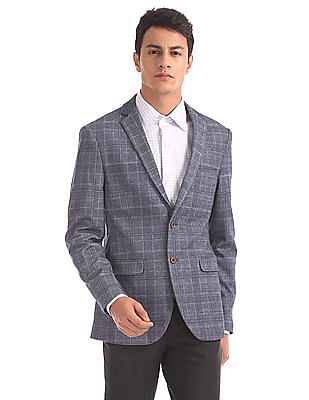 Arrow Slim Fit Patterned Blazer