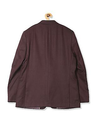 Arrow Regular Fit Patterned Blazer