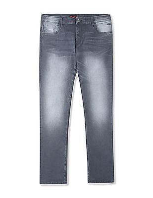 Flying Machine Michael Slim Tapered Stone Wash Jeans