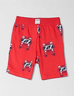 GAP Toddler Boy Printed Shorts