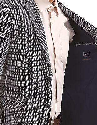 Arrow Sports Patterned Slim Fit Blazer