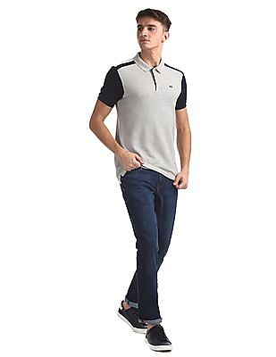 Arrow Sports Blue James Slim Fit Dark Wash Jeans