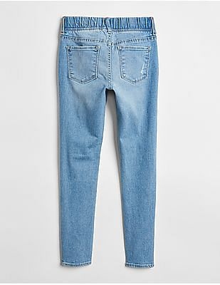 GAP Fantastflex Super denim Destructed Jeggings