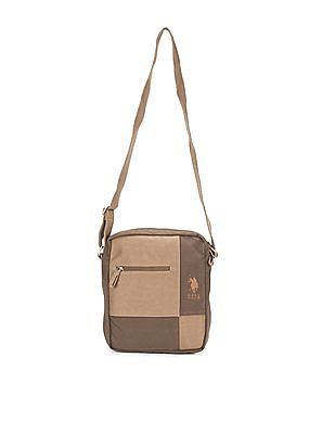 U.S. Polo Assn. Colour Block Messenger Bag
