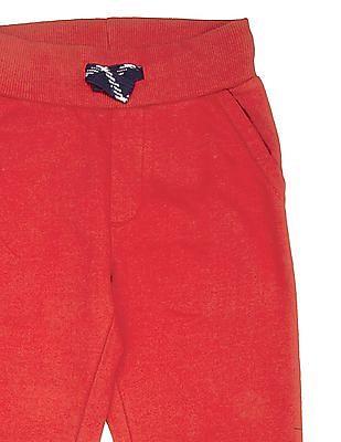 U.S. Polo Assn. Kids Boys Numeric Applique Knit Joggers