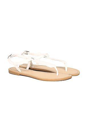 Aeropostale Contrast Ankle Strap Sandals