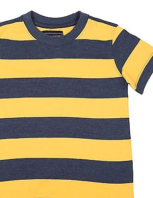 Cherokee Boys Short Sleeve Striped T-Shirt