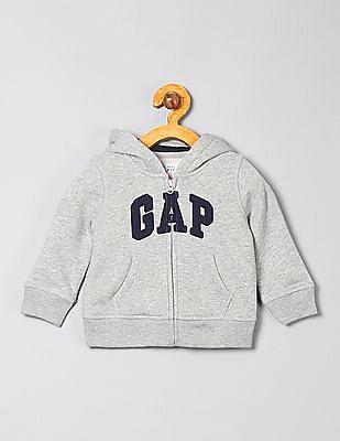 GAP Baby Zip Up Hooded Sweatshirt